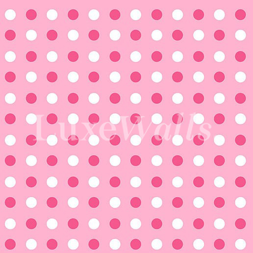 Polka Dots Wallpaper Luxe Walls Removable Wallpapers
