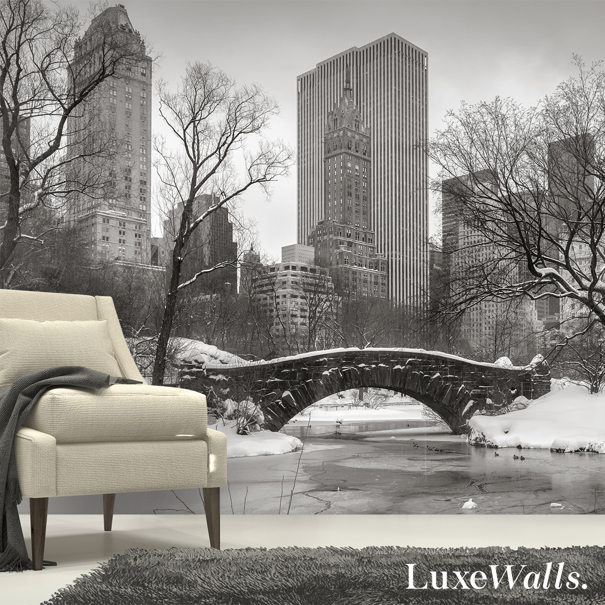 Cityscapes New York Wallpaper And More Luxe Walls