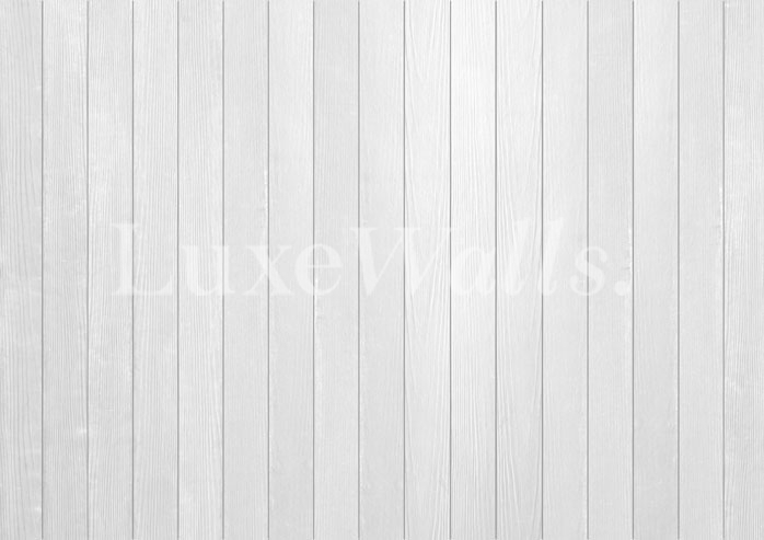 White wood panel wallpaper